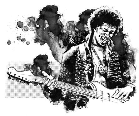 Джими Хендрикс | Jimi Hendrix | Rock Auto Club