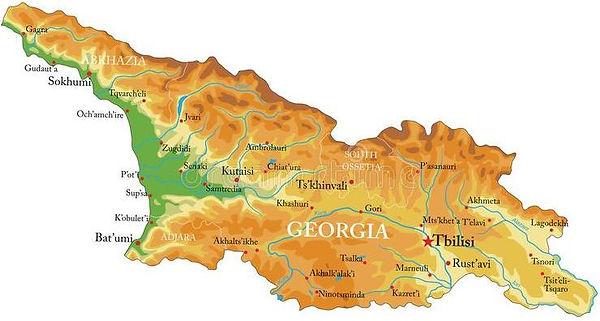 Города и районы Грузии | Адмирал+