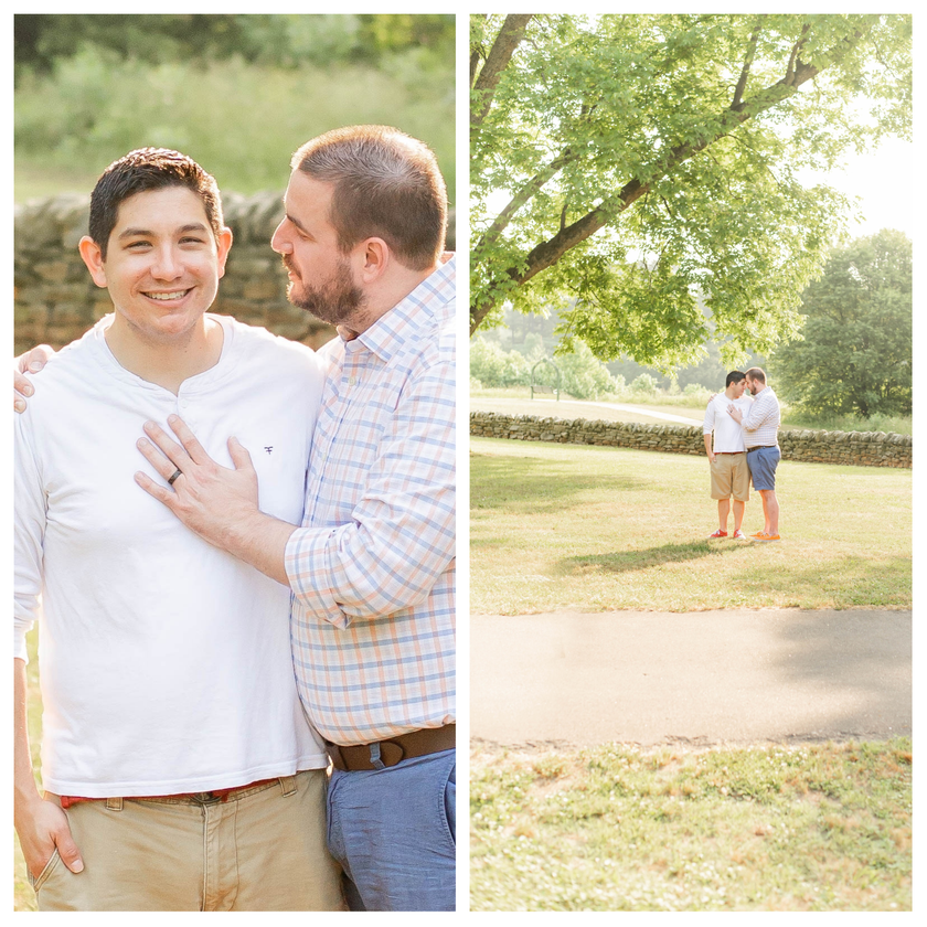 Brad & PJ Engagement Session | Downtown Wake Forest NC | Taylor Prickett Photography