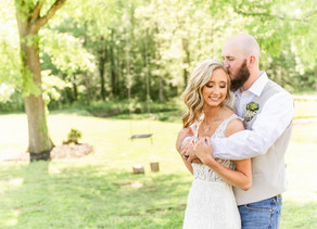Sharpe Wedding | The Roost at Butler Farm | Staley NC
