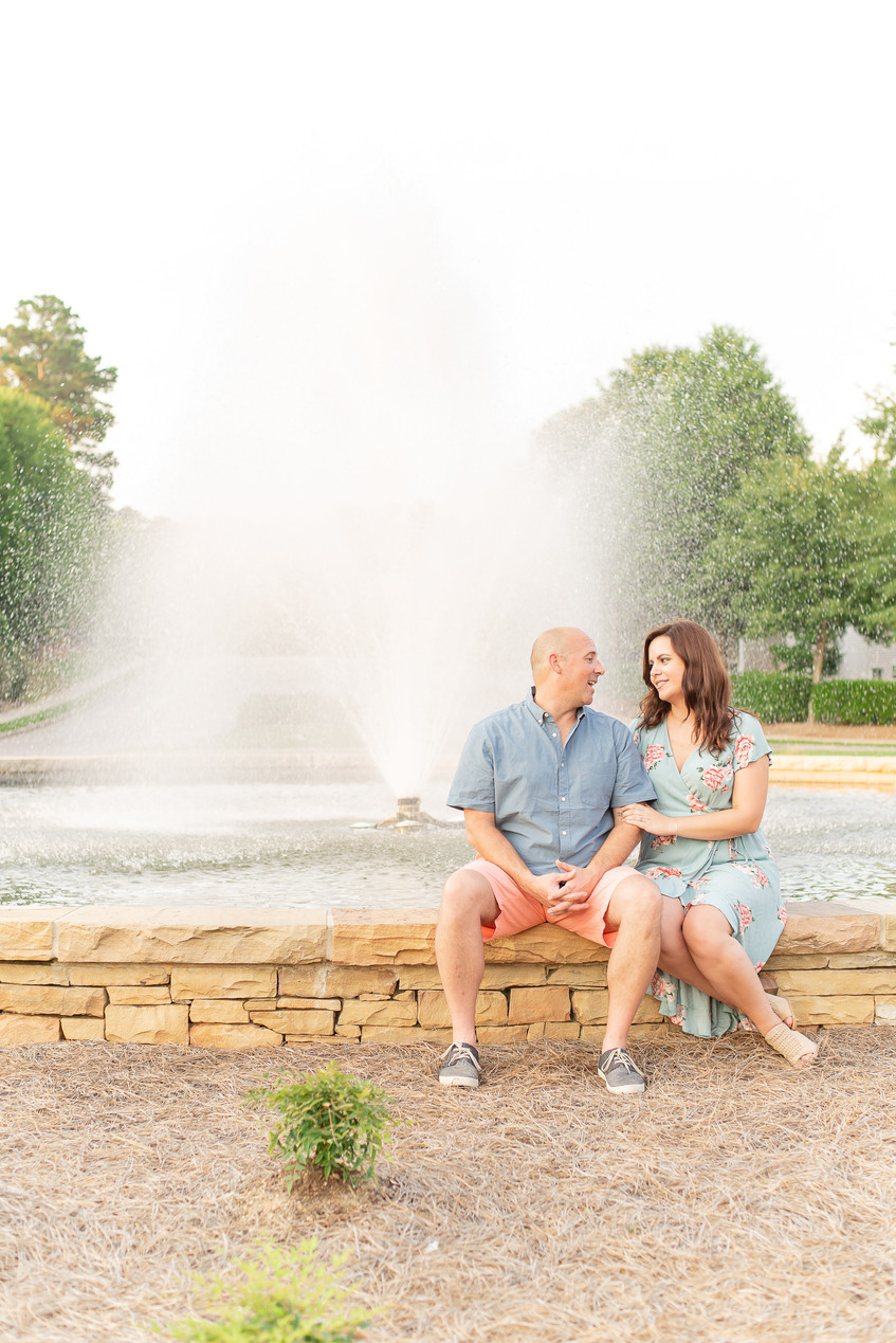 Ashley & Ronnie Engagement Session | Wakefield Plantation, Raleigh NC | Taylor Prickett Photography