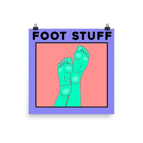 Foot Stuff Poster