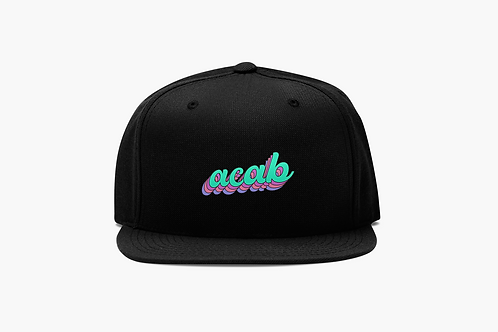 ACAB Embroidered Snapback Hat
