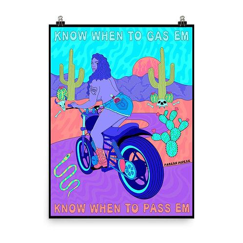 Gas Em, Pass Em Poster