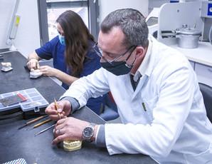 Technische Vorbereitung im Labor