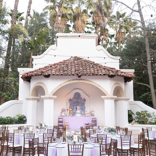 Gorgeous Lavender and Blush Wedding at Rancho Las Lomas with lush garden style florals by San Diego Florist Le Champagne Projects