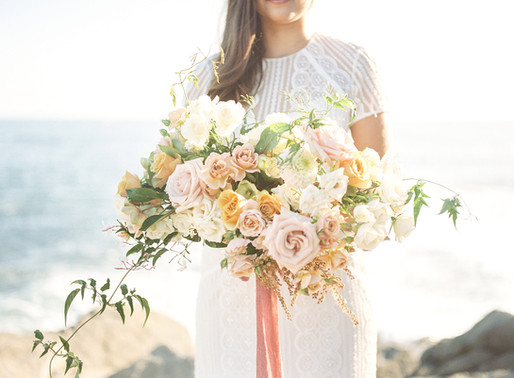 Dana Point Beach Elopement  Inspiration