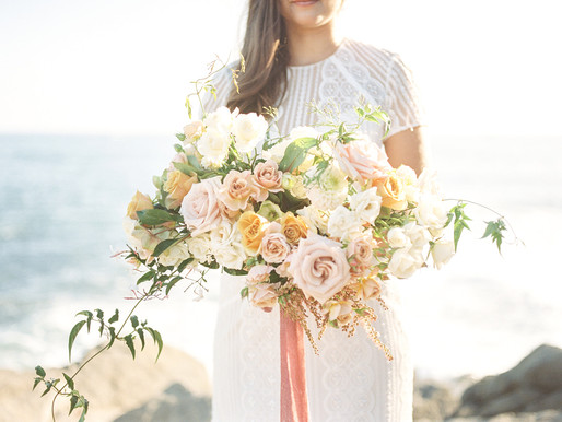 Dana Point Beach Elopement  Flower Inspiration