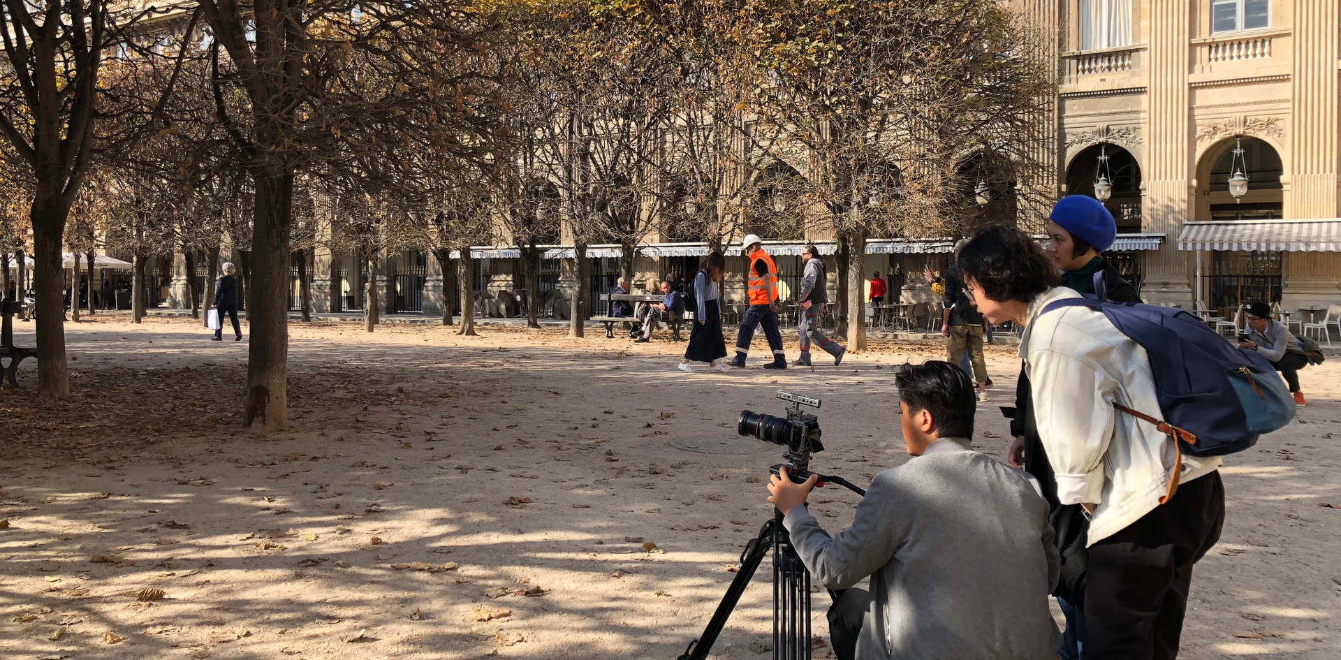 Guerlain Paris oversea shooting