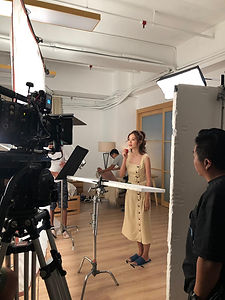 Plan B Film Production produces online video for many beauty brand. this is Shiseido online video shooting.