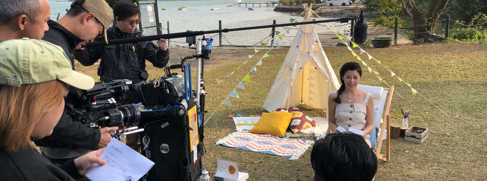 Outdoor online video shooting for Beaute Science - Plan B Film Production