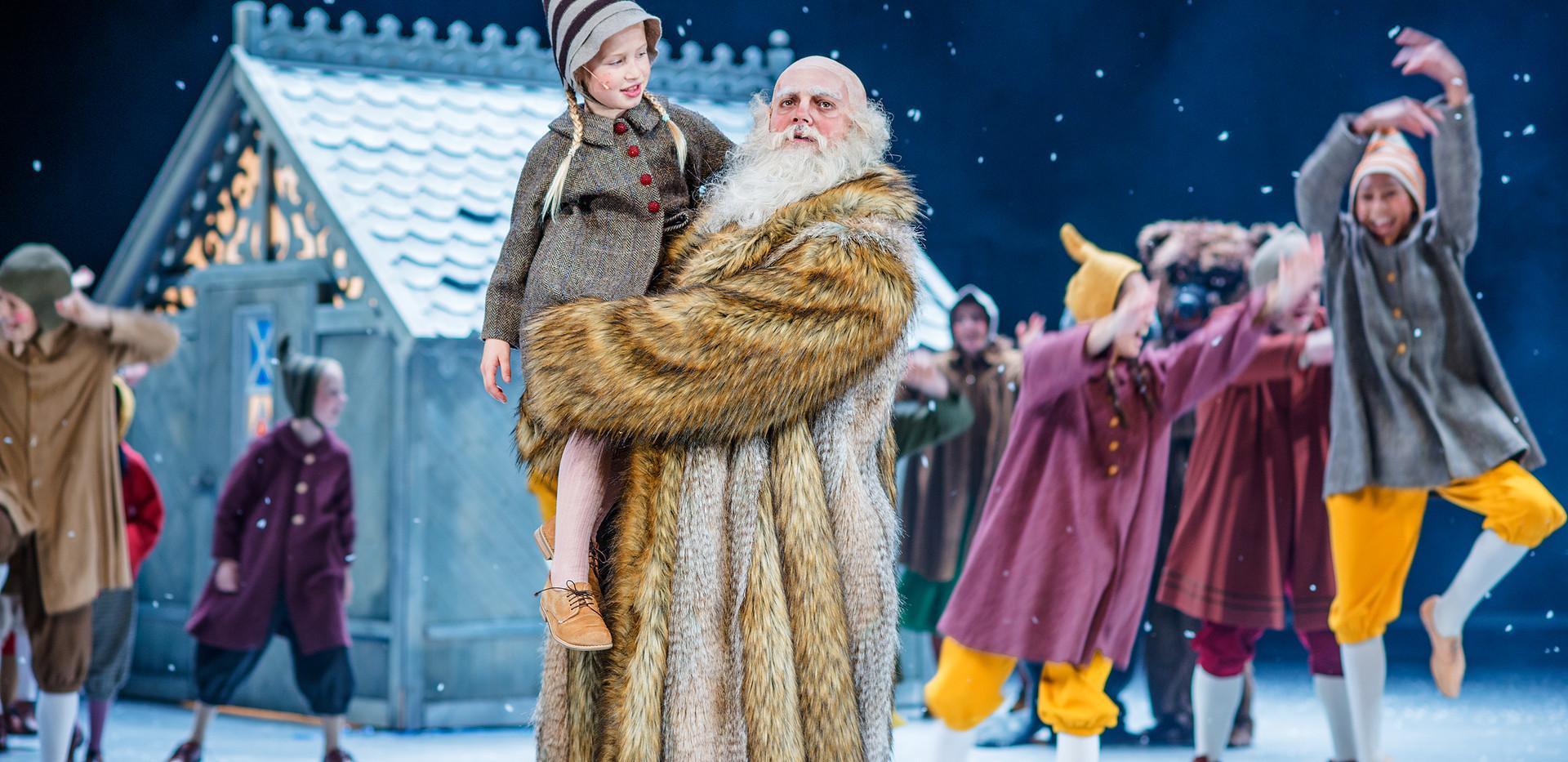 Reisen til julestjernen, Nationaltheatret