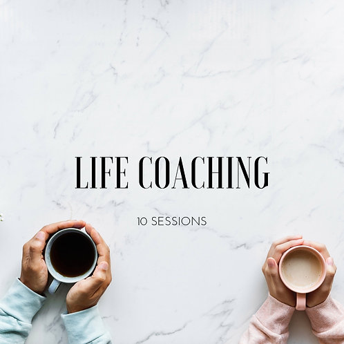 Life Coaching (10 Sessions)