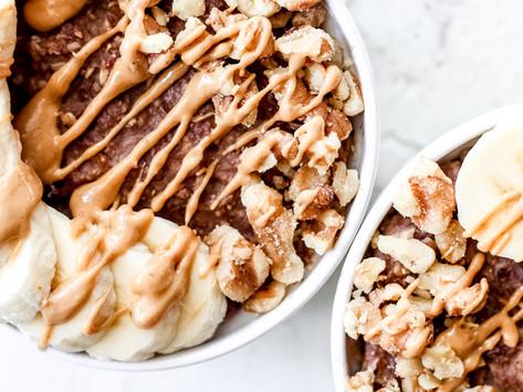 Chocolate Peanut Butter Oats