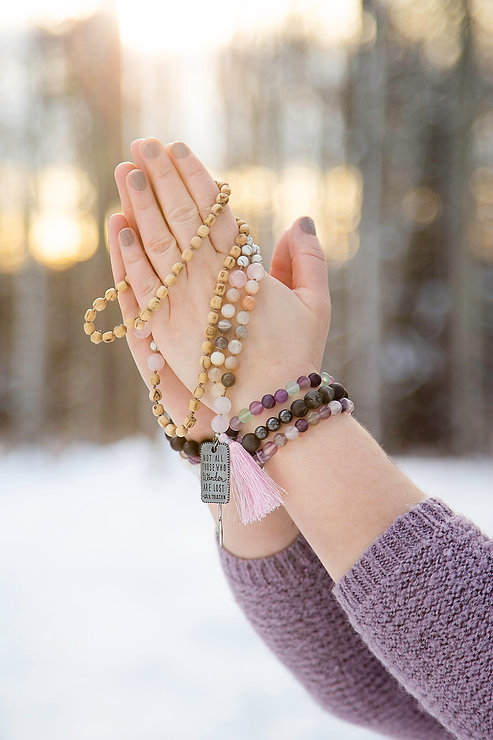 Soulful Energy Mala Beads