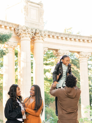 Franklin Family Session at the Palace of Fine Arts: Instagram Worthy Spot In San Francisco