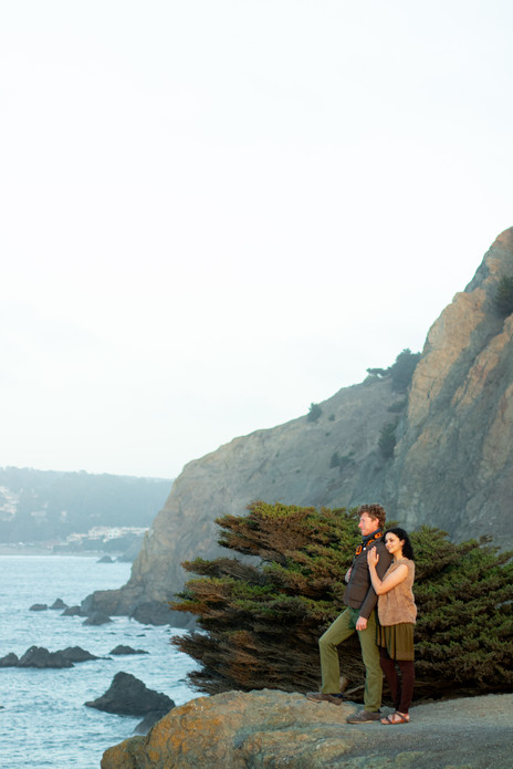 San Francisco Lands End Labyrinth Anniversary Photo Session