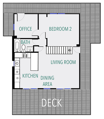 Life is Good main floor plan