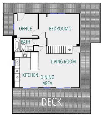 Life is Good main floor plan