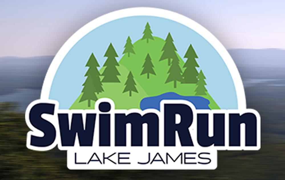 SwimRun Lake james logo