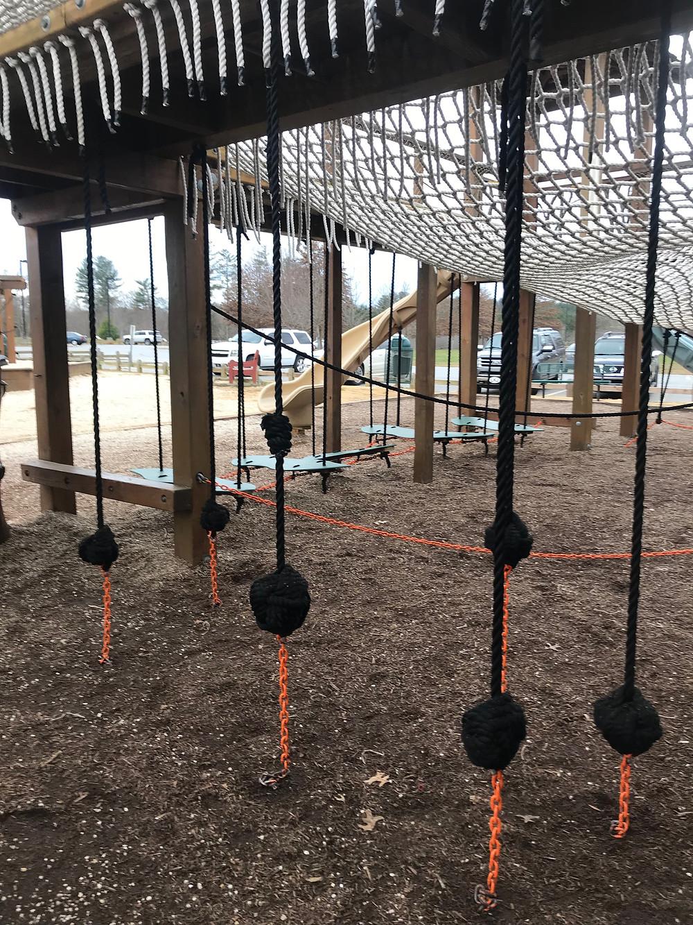 Catawba Meadows Park, Beanstalk Playground, Morganton, NC Greenway
