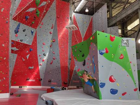 La plus grande salle d'escalade du sud de la France