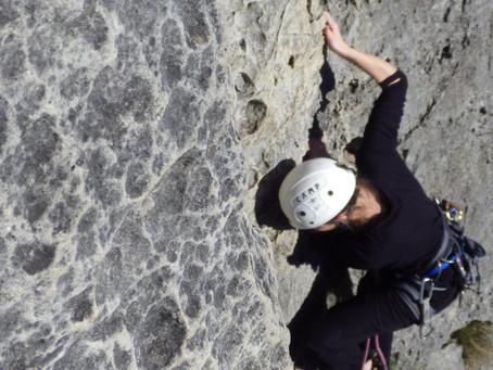 Escalader en Avril à Buoux pour des débutants est-ce possible?