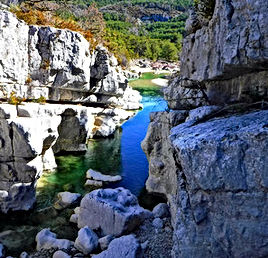 Canyon du Bas Jabron Canyonin au Verdon, Libertagrimpe