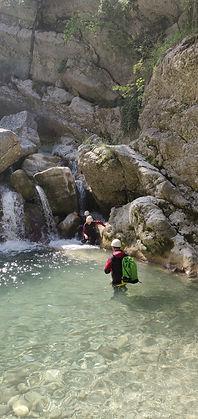canyoning du Gours du Ray, Gréolière (06