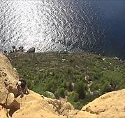 Escalade aux Cap Canaille, Grimper autour de Cassis Libertagrimper