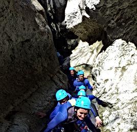 Canyon du Hautt Jabron, Canyoning au Verdon, Libertagrimpe