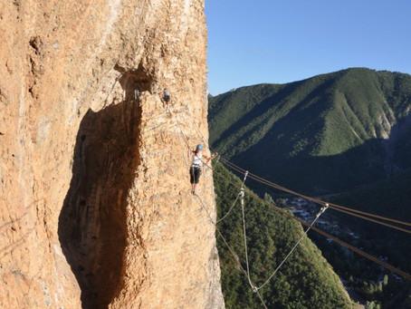Activités au Verdon :Via Ferrata et Cordata au Verdon où grimper faire autre chose que du canyoning?