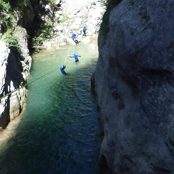 Canyon du St Auban demi journée (1)