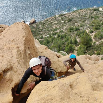 La Vire supérieure : De l'escalade en grande voie au Cap Canaille pour tous!