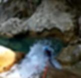 Gours du Ray, descente sous Cascade, initiation au rappel du Canyoning, Libetagrimpe