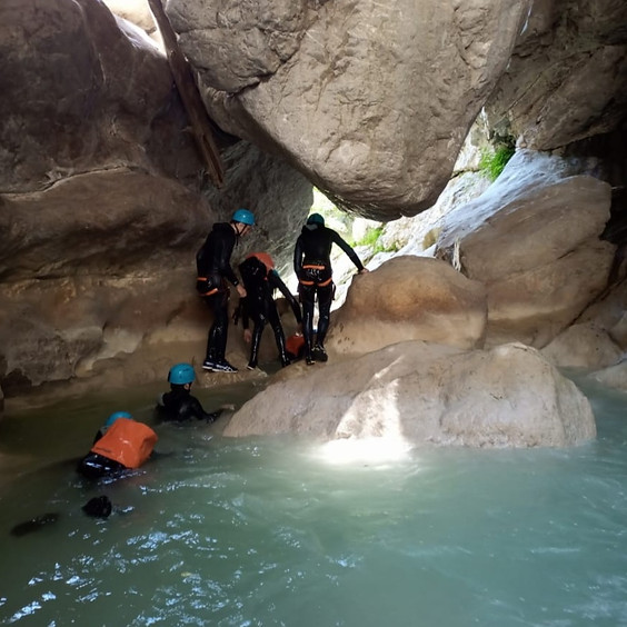Canyon Artuby demi-journée