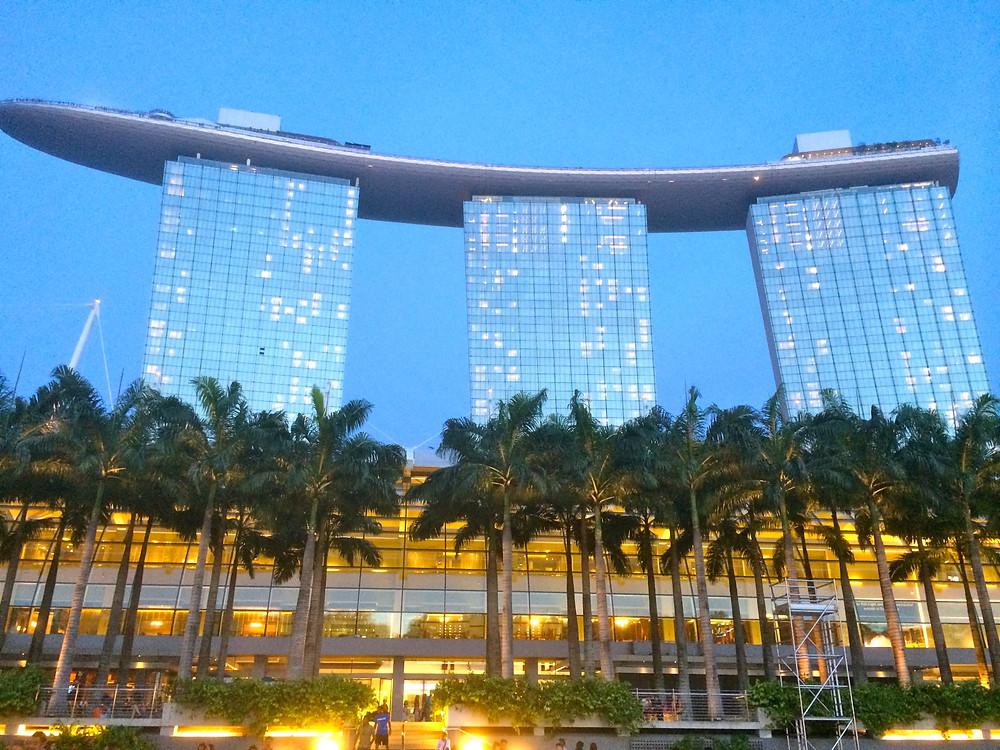 Marina Bay Sands , 'S', as spectacular Singapore