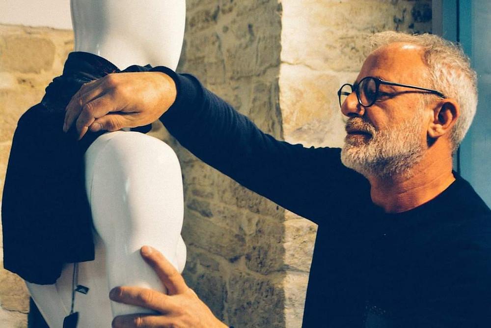 The visual designer Nicola Moschetta