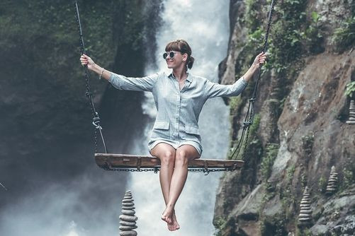 Amazing Bali Swing in Bali, Indonesia