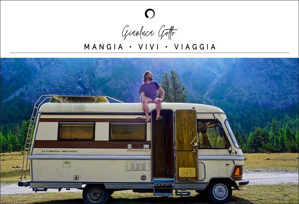 Gianluca Gotto, blogger of Mangia Vivi Viaggia