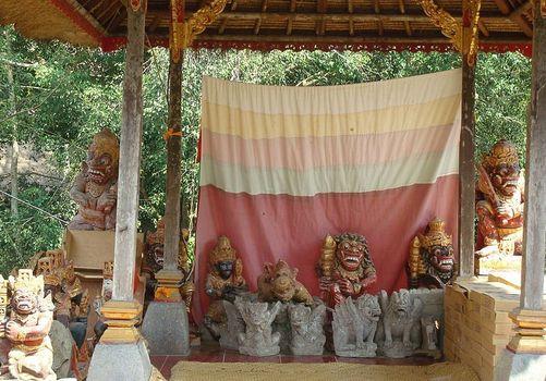 Pura Gunung Lebah, Bali, Indonesia