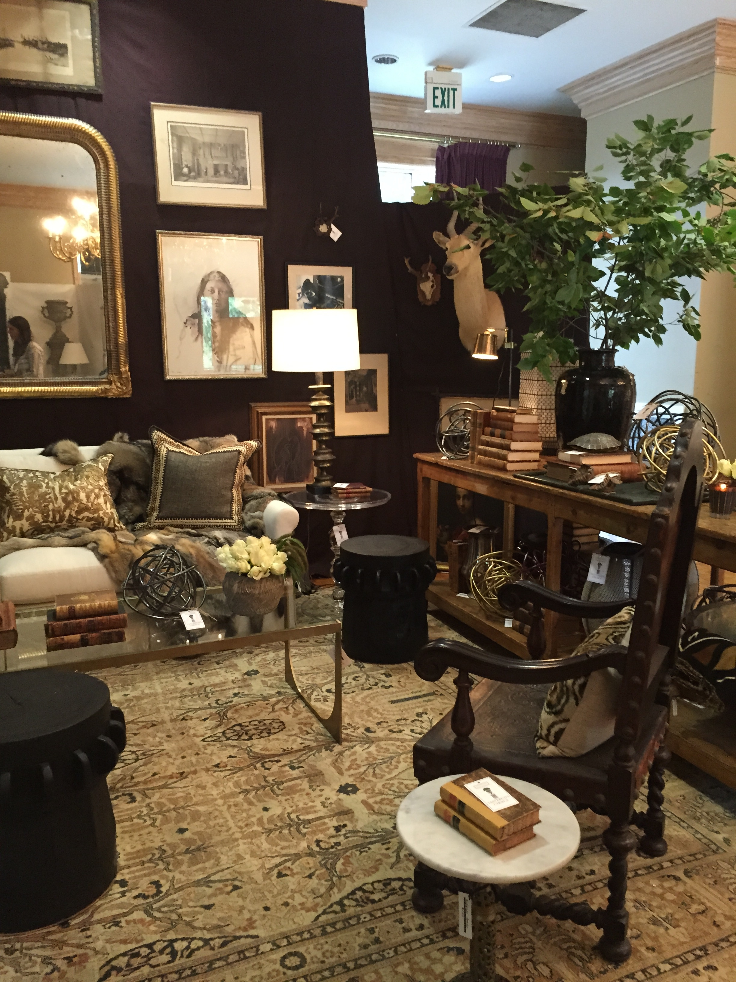 Antiques at the Gardens Show 2015