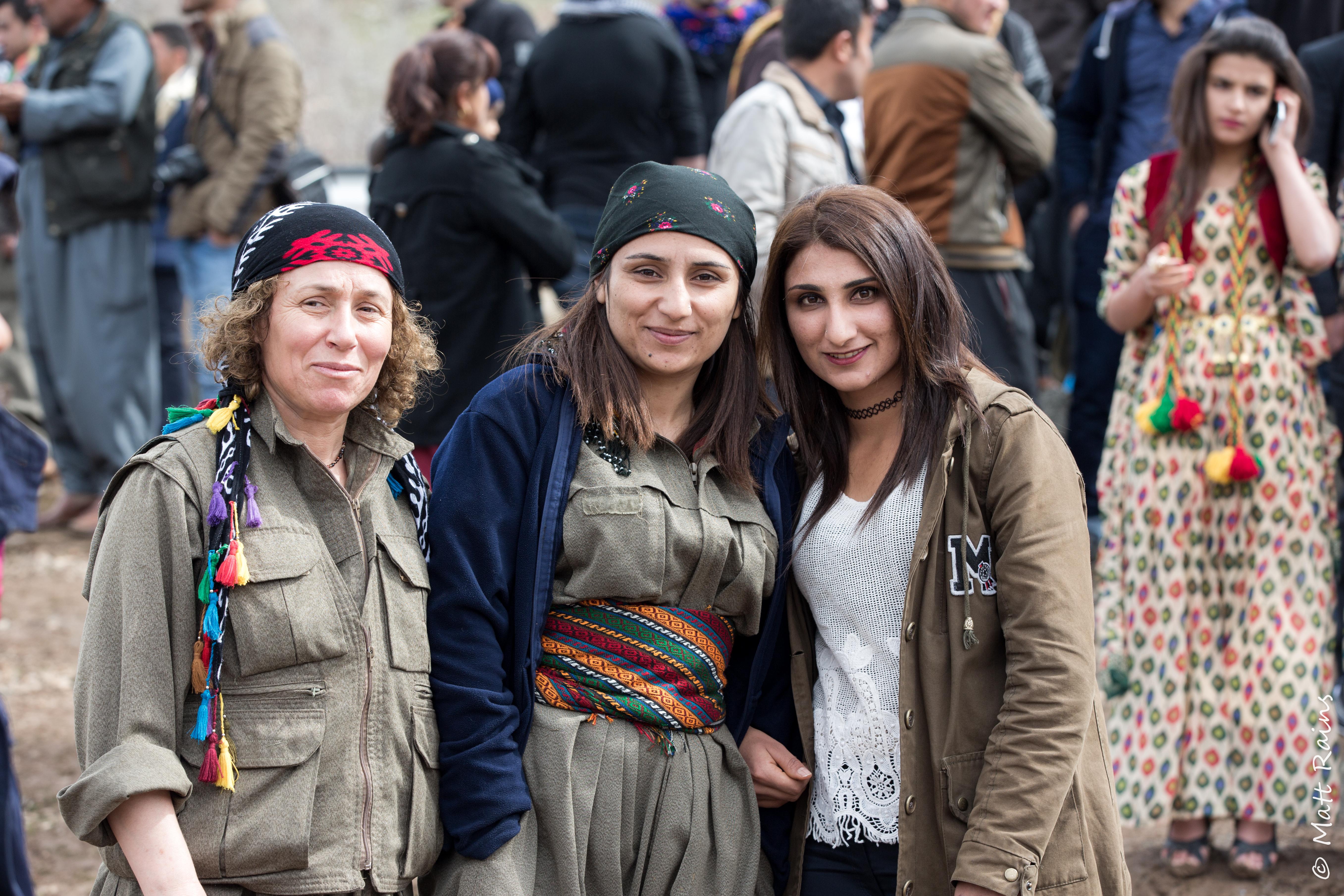 Kurdistan Kandil Newroz-96