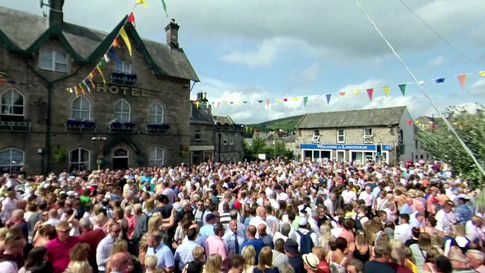 Langhom Common Riding 2019 - Auld Lang Syne and Fair Crying