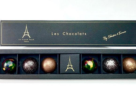 """Les Chocolats by  """"Sébastien & François"""" x 6"""