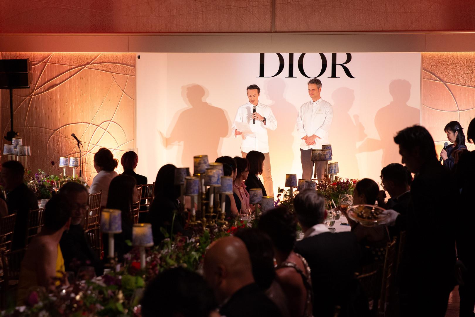 Dior Gala diner, Sébastien Martin, Franç