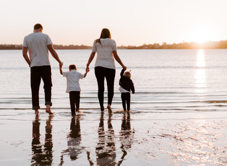 THE WALL FAMILY   Family Session at the River, Perth