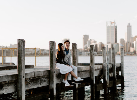 SHARON & JOE   From Singapore to Perth