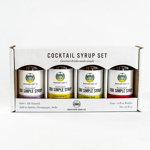 CBD Simple Syrup Gift Set