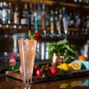 Strawberry Vanilla Bean Cocktail